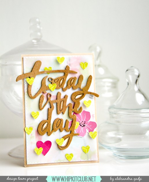 Alex Gadji - Today is the day