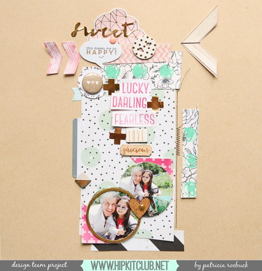 March 2015 Kits @hipkitclub @paroe #hipkitclub #scrapbooking #kitclub