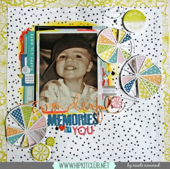 Wonderful memories of you