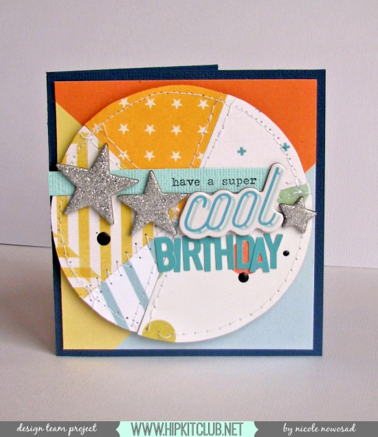 Have a super cool birthday card