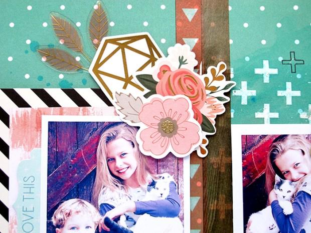 Kim Watson, Hip Kit Club, Scrapbooking, Paper Craft, Fall, Autumn, Memory Keeping, Pink Paislee, Jen Hadfield,