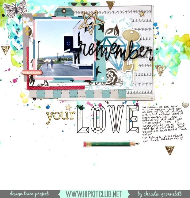 Remember your love - christin gronnslett hipkitclub 01