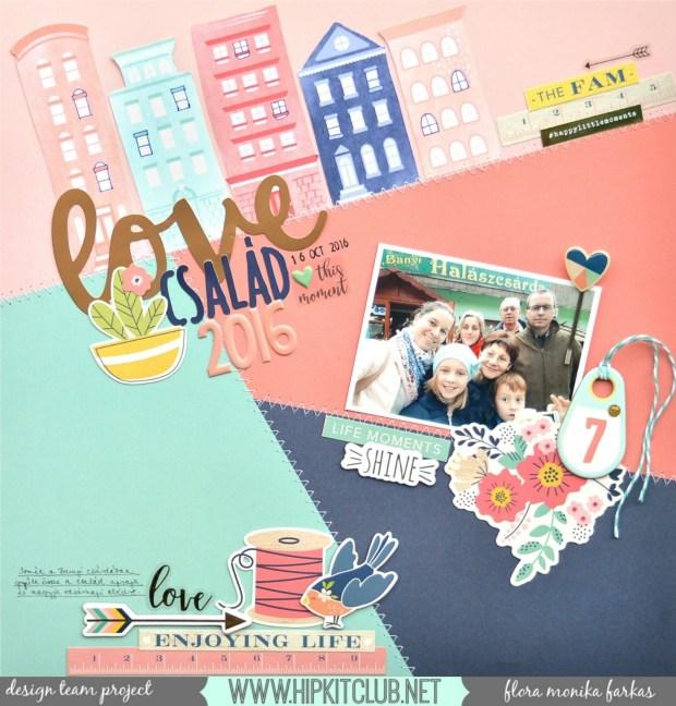 family-selfie-scrapbook-layout