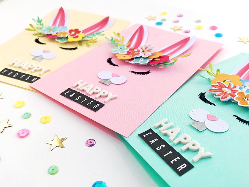 Easter Cards using Cutfiles | Kim Watson