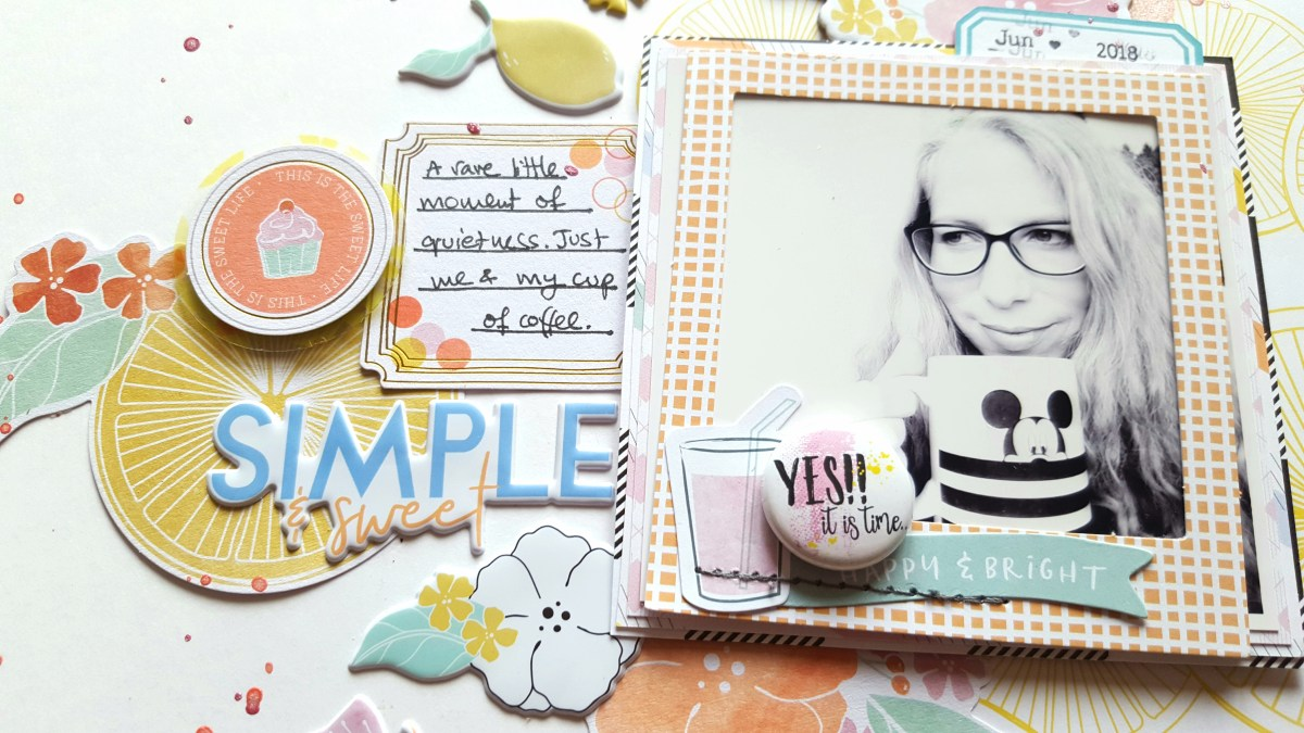 Sweet & Simple Layout | Irit Landgraf