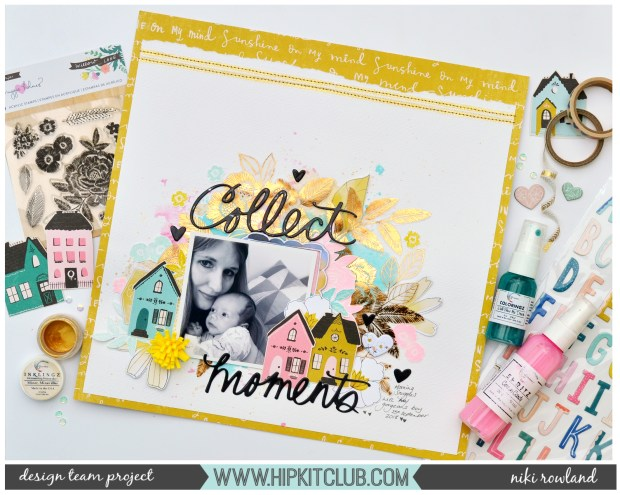 Collect Moments Niki Rowland Hip Kit Club Maggie Holmes Willow Lane Shimmerz Paints set