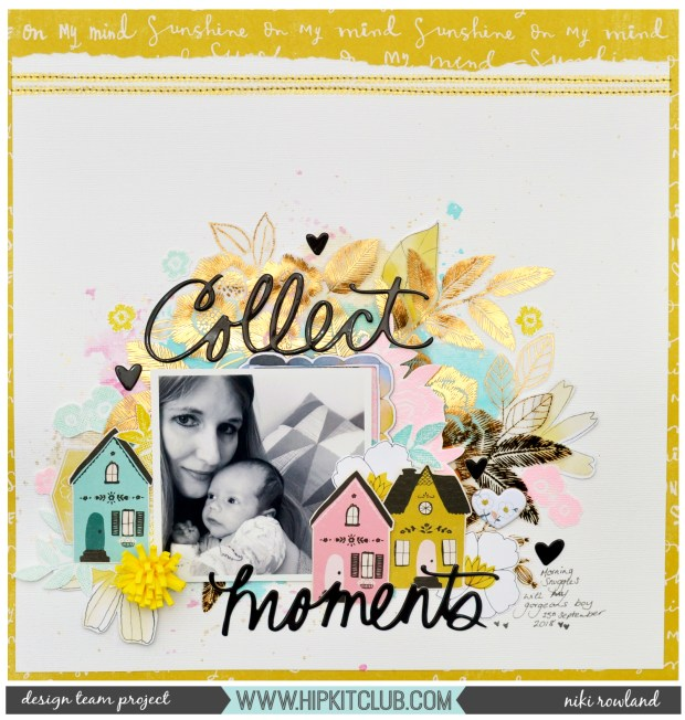 Collect Moments Niki Rowland Hip Kit Club Maggie Holmes Willow Lane Shimmerz Paints