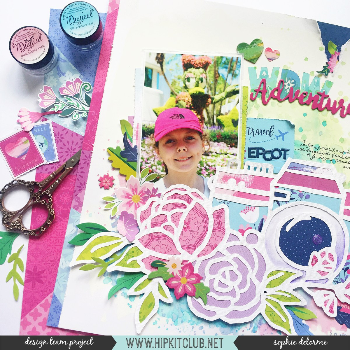 Large Cut File Layout | Sophie Delorme