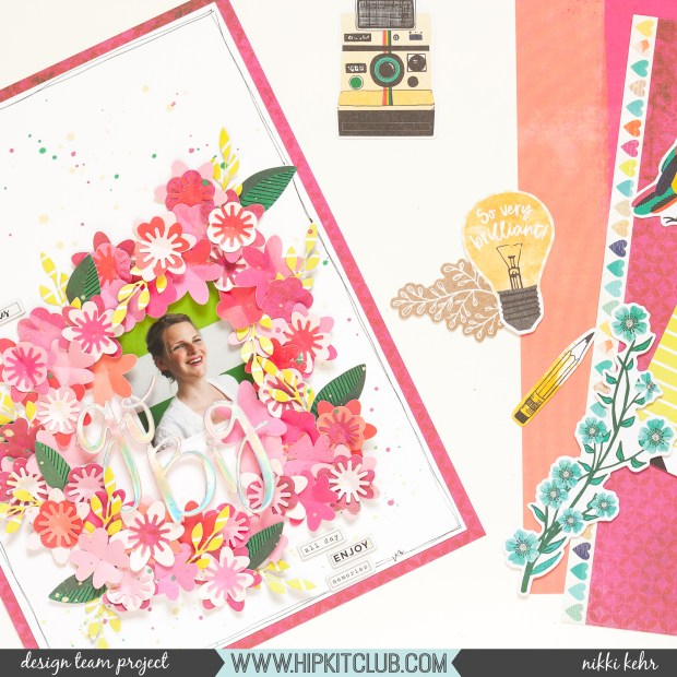Hip Kit Club-June Kit 2019-B-Scrapbook Layout-Nikki Kehr-Nimena (6 von 6)_