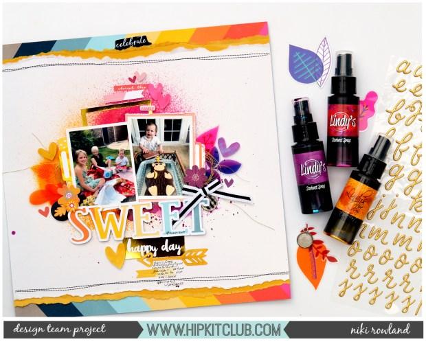 Sweet Happy Day Niki Rowland Hip Kit Club October Amy Tan Slice of Life set