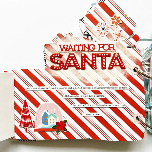 Christmas decoration minialbum