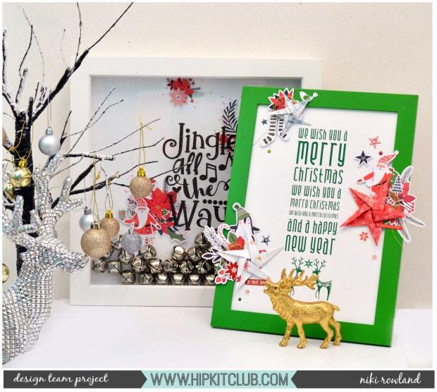 Upcycled Decor Christmas Niki Rowland Hip Kit Club November 2019