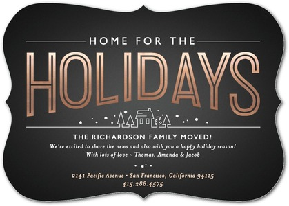 New Home Holiday Cards!