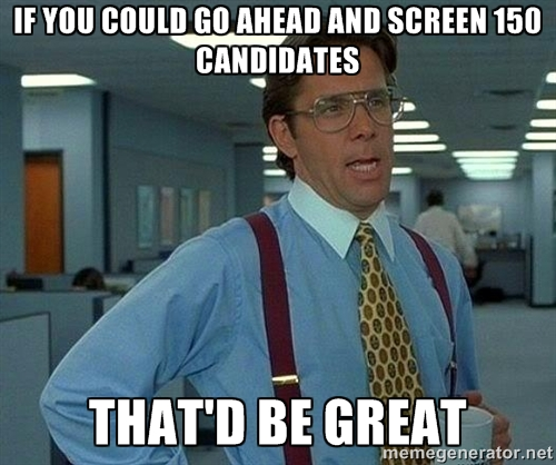 screen candidates