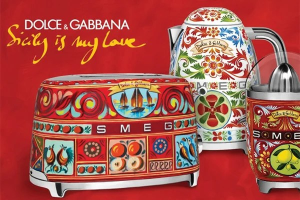 c1e8e7f9465c Bring a touch of gorgeousness into your home this Christmas with this  fabulous range of SMEG Dolce   Gabbana small appliances now available on  order from ...