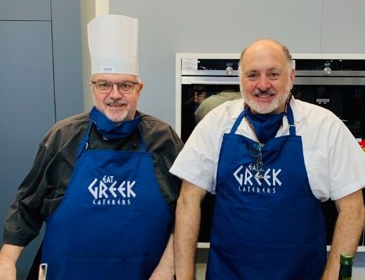 HIRSCH'S – CRISPING IT UP WITH EAT GREEK!