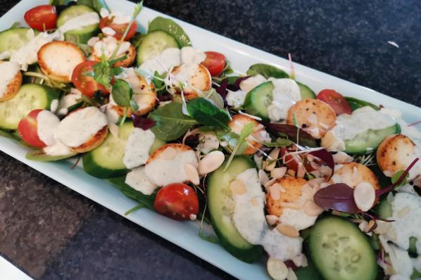 Halloumi Spring Salad
