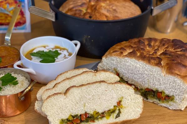 Scrumptious Pot Bread Recipe
