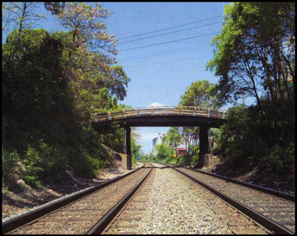 "Washington Grove ""Humpback Bridge"" (photographed in 2008)."