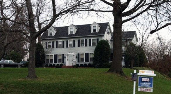 William Read house, December 2012.