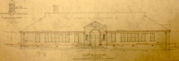 Grade School for Poplar Springs. Edwards and Sayward Architects, April 20, 1926.