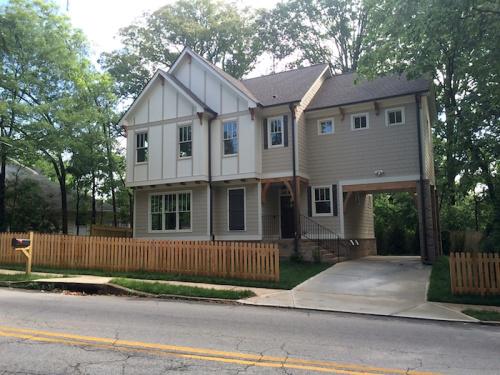 New home, 300 block East Lake Drive, 2015.