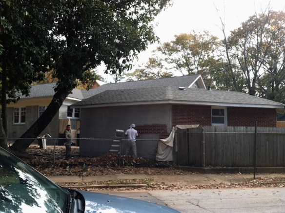 East Lake Dr. house, early 2012.