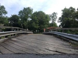 Talbot Avenue Bridge deck, August 2016.