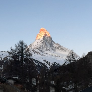 Matterhorn in the sunlight
