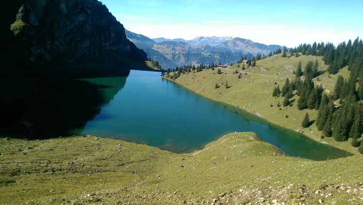 View to Lake Bannalp