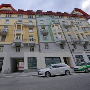 Bild vom Standort der HITrental City Apartments