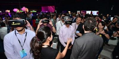 Singapore IMDA launch event 360 VR multi user classroom education