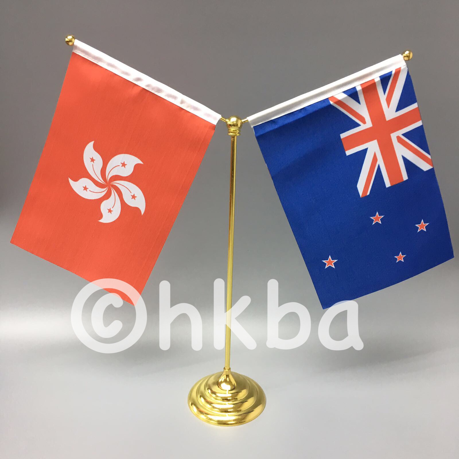 國家小桌旗 - 桌旗 - 紐西蘭領事館 - 香港優質奬品設計公司 - 案例分享