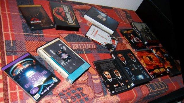 VHS vs. DVD