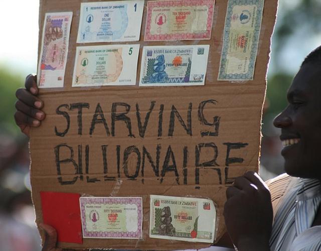 Starving Zimbabwean Billionaire