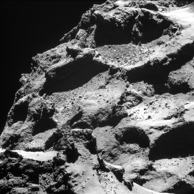 Comet 67P/Churyumov–Gerasimenko (courtesy of European Space Agency - ESA)