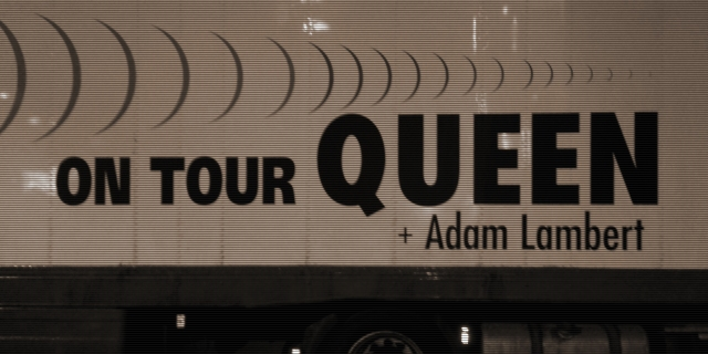Tour truck: Queen + Adam Lambert