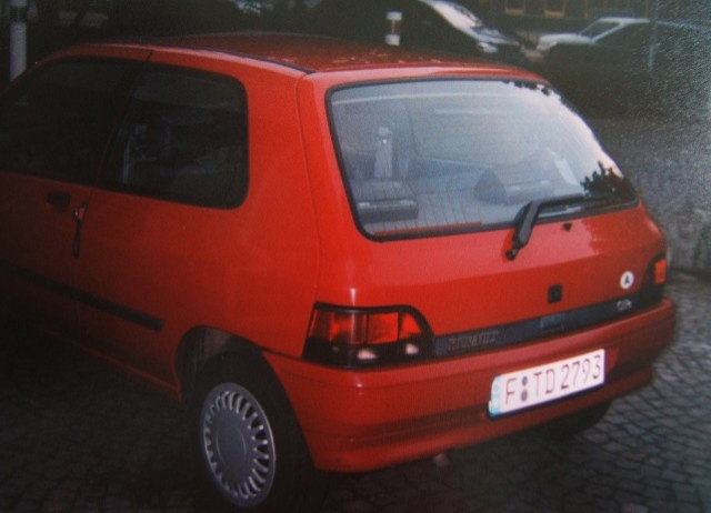 The Clio's arse