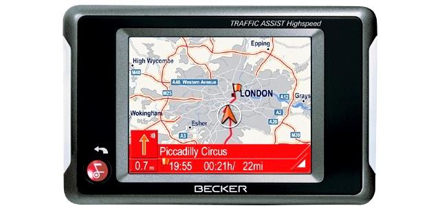Becker Traffic Assist Highspeed 7934 GPS