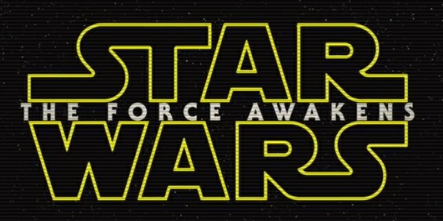 Star Wars: The Force Awakens title card