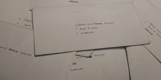 Envelopes full of little pictures