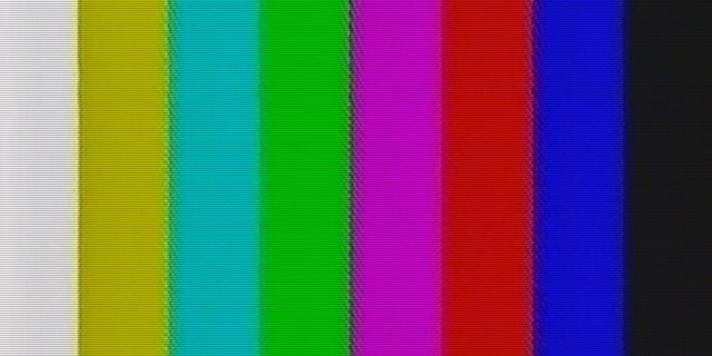 VHS colour bars