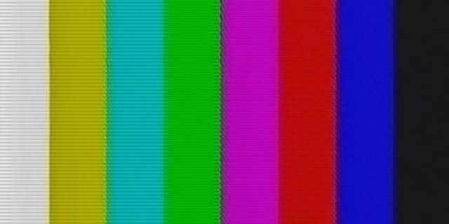 VHS colour bars