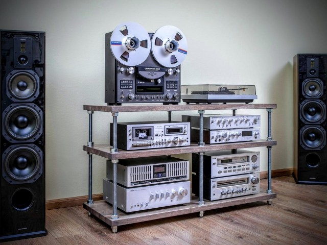 Wouldn't mind the reel tape player, though (image via Etsy/SilverBeardLampCo)