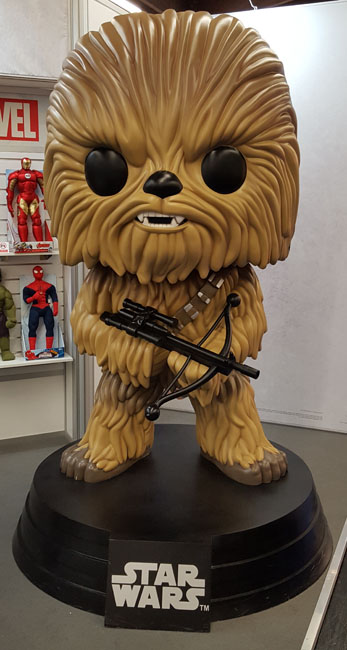 Nuremberg Toy Fair - Funko Pop Star Wars Chewbacca