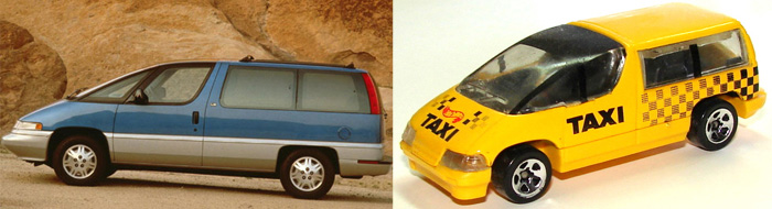 Hot Wheels Chevy Lumina APV Van