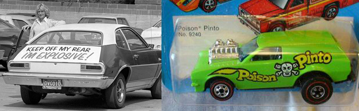 Hot Wheels Ford Pinto Poison