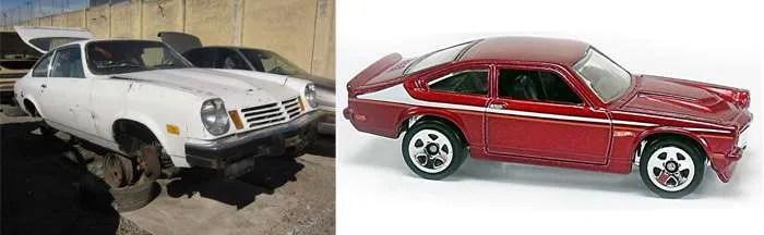 Hot Wheels Chevy Vega