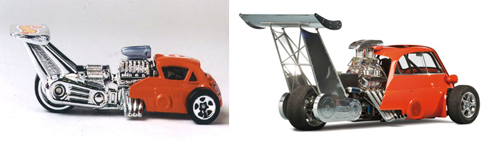 hot wheels bmw isetta whatta drag