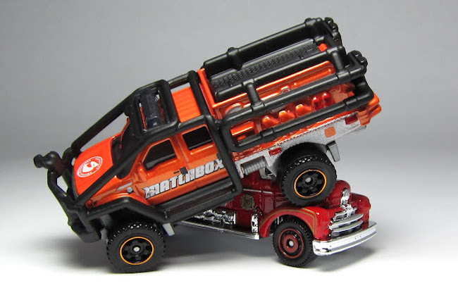 matchbox off road fire engine